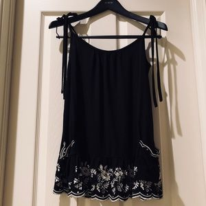 Juicy couture black top size small
